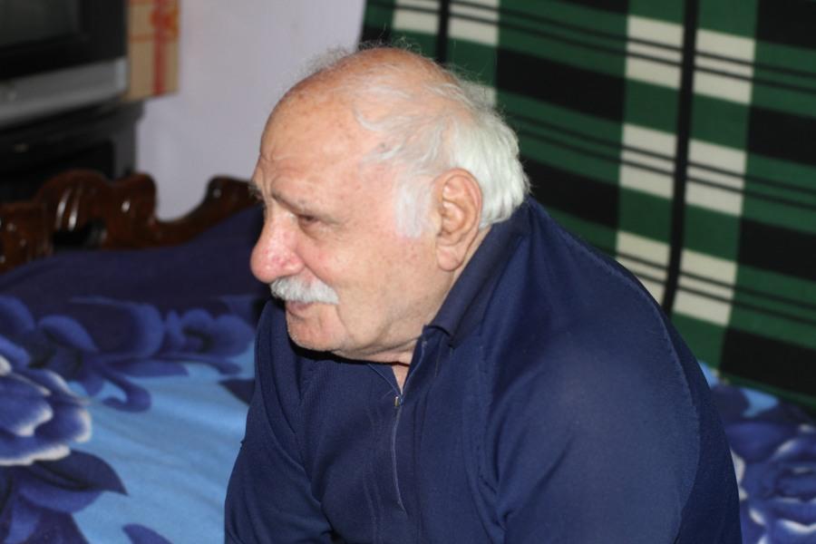 ციბაძე ნიკოლოზი, 83 წლის.