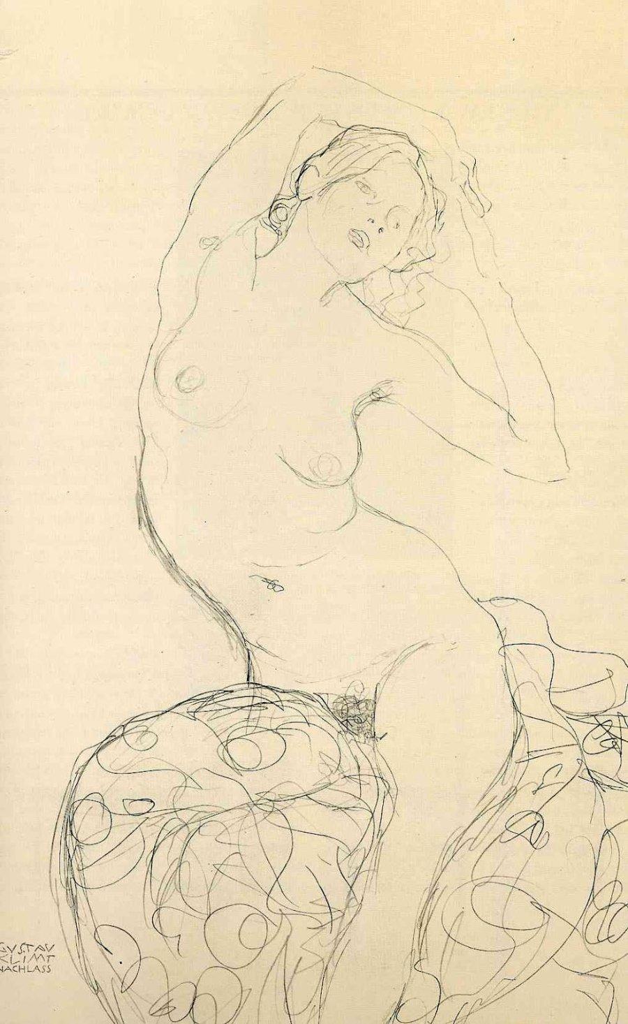 Gustav_Klimt_erotica_sensual16