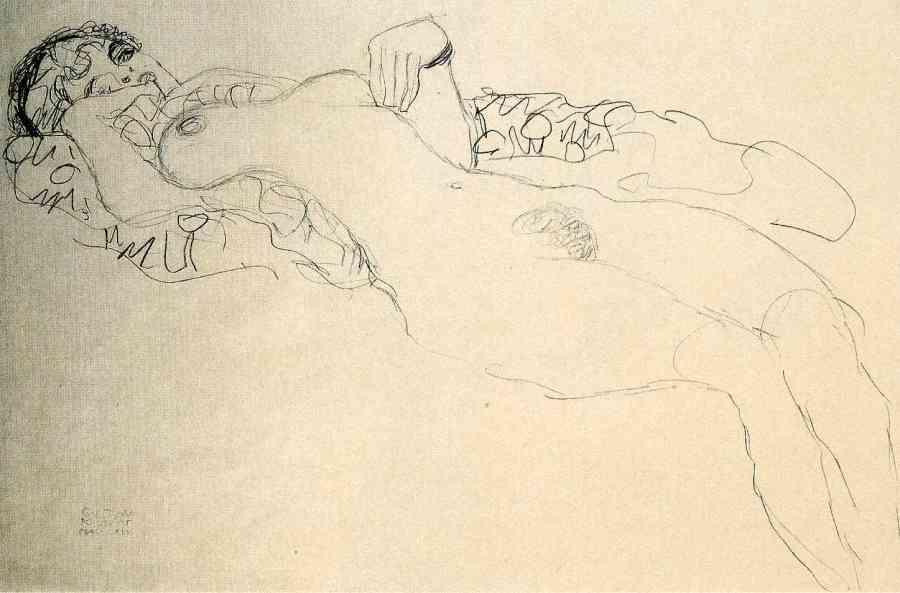 Gustav_Klimt_erotica_sensual19