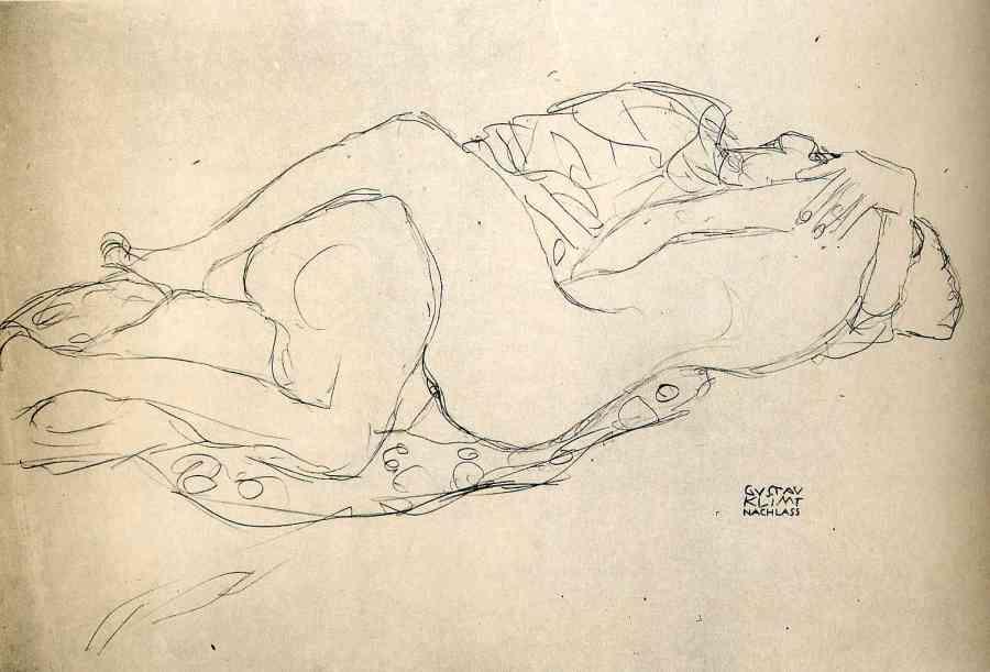 Gustav_Klimt_erotica_sensual21