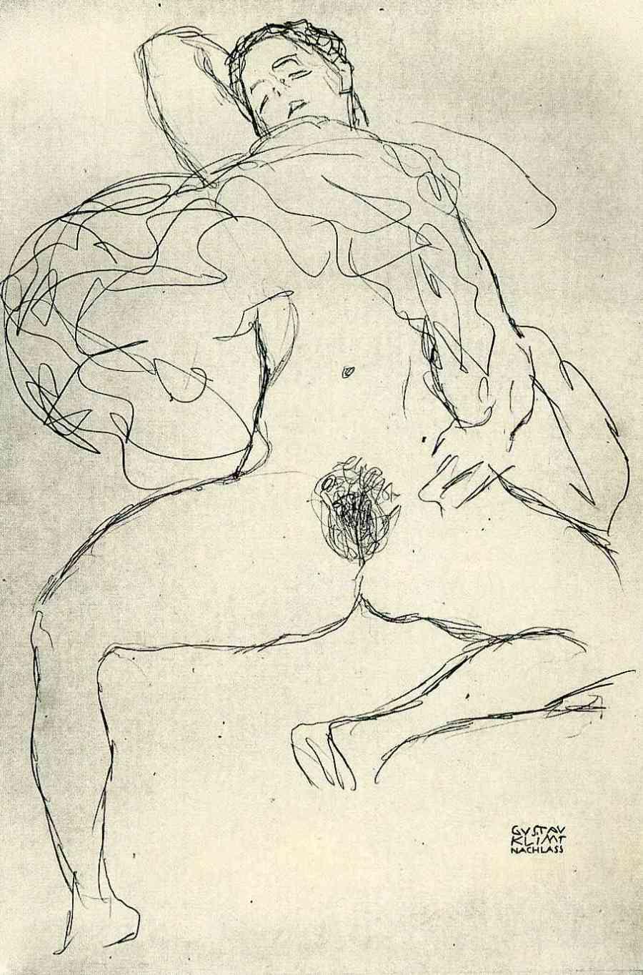 Gustav_Klimt_erotica_sensual23