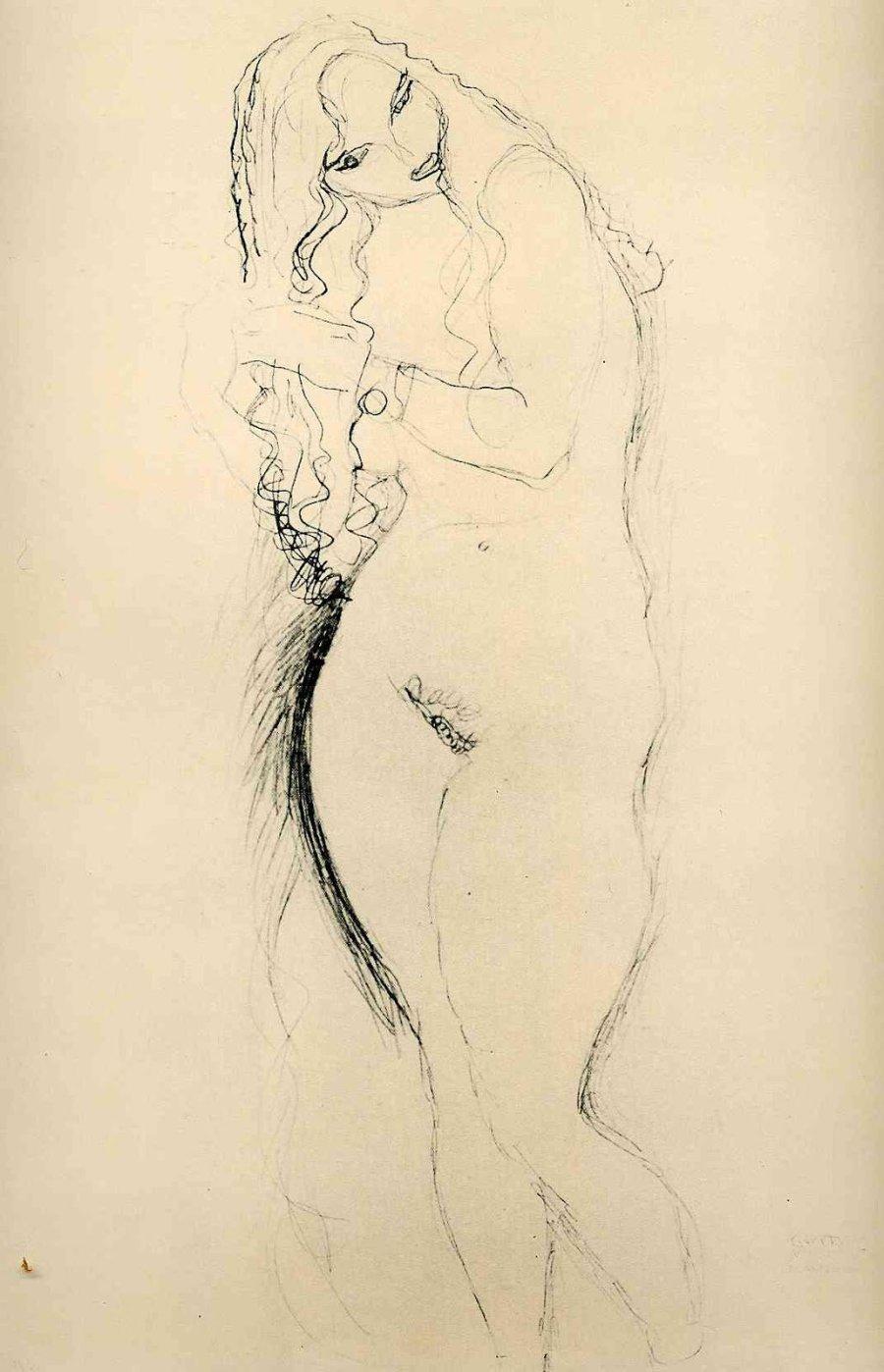 Gustav_Klimt_erotica_sensual25
