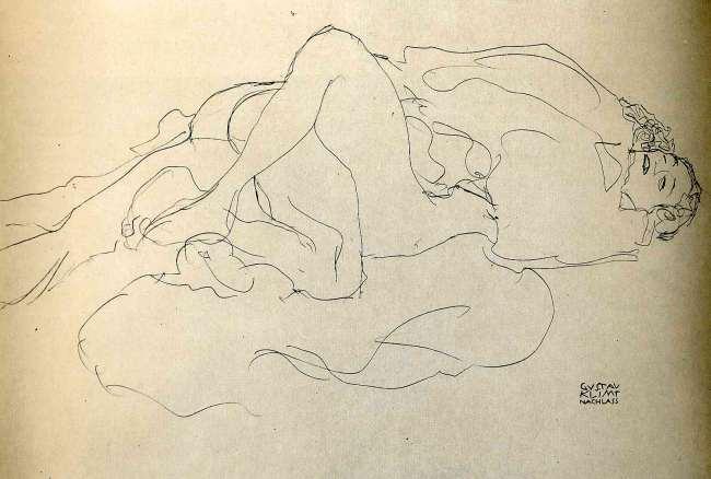 Gustav_Klimt_erotica_sensual31
